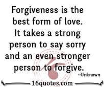 Sorry & Forgiving